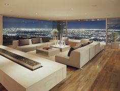 ... I want to live in a pent house looking out over a city (maybe!)