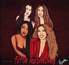 Fifth Harmony drawing