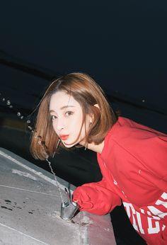 Byun Jungha - Byeon Jeongha - Model - Korean Model - Ulzzang - Stylenanda - 3CE - DudsC Asian Short Hair, Girl Short Hair, Ulzzang Fashion, Ulzzang Girl, Byun Jungha, Shot Hair Styles, No Rain, Wattpad, Korea Fashion