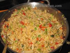 Interesting Chinese Veg Fried Rice-Restaurant Style #dinner  #lunch  #RecipeOfTheDay