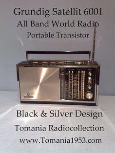 **** Tom's Toy World - TomaniaToys ****: GRUNDIG SATELLIT RADIO World Radio, All Band, Radios, Toy, Vintage, Clearance Toys, Vintage Comics, Toys