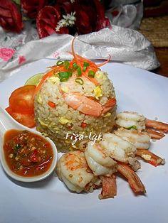 NASI GORENG UDANG - Terangkat | Fiza's Cooking