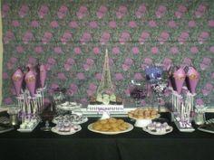#Paris #Sweet #Sixteen #Birthday #Party! #Sweet Table @pinkcakeplate.com