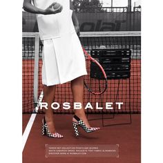 One campaign at a time. Rosbalet SS 2014 Tennis set collection. #rosbalet #roughandelegant #trend #tennis #shoes #ss2014 #summer #women #pumps #fashion #sneakers #elegant #ageless #shoeaddict #white