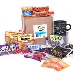 Fun College Student Care Packages To Help With Exams Stress And Homesickness Send Of Goodies Snacks Games Gifts For Students