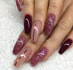 nail art wine red maroon nail pinterest nails nail