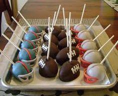 Resultado de imagen para cupcakes de futbol americano