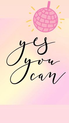 Yes You Can Printable - Pretty Collected - Yes You CAN! Love this quote! Motivational Picture Quotes, Happy Quotes Inspirational, Positive Quotes, Quotes Gif, Motivational Videos, Change Quotes, Quotes To Live By, Life Quotes, Thank You Quotes