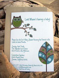 Rustic Owl-Inspired Baby Shower | MyOwlBarn | Flickr