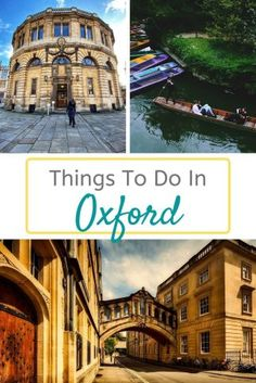 A City Guide - The 10 Best Things To Do In Oxford - My Life Long Holiday Road Trip Uk, Visit Oxford, New England Usa, Stuff To Do, Things To Do, European City Breaks, Road Trip Destinations, Long Holiday, Cities In Europe