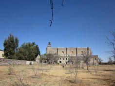 Iglesia y ex convento de Huejotzingo, Puebla, vista desde sus huertas