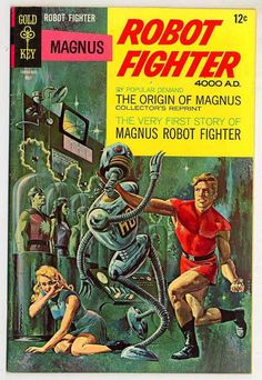 The incredible artwork of magnus robot fighter - The origin of Magnus