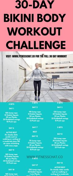 Summer Workout Plan – Your Ultimate Bikini Body Workout Challenge 30 day challenge fitness and at home workouts for women. HIIT workouts, Ab workouts at home for quick weight loss Summer Workout Plan, Bikini Body Workout Plan, Gym Workout Plan For Women, Summer Body Workouts, At Home Workout Plan, Ab Workouts, Workout Plans, Post Workout, Workout Diet