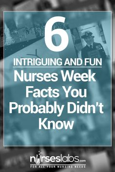 6 Nurses Week Facts You Probably Didn't Know. is definitely a shocker! - Just how much do we know about Nurses Week? We dug down our history books and found these six intri - Nurses Week Quotes, Nurses Week Gifts, Happy Nurses Week, Funny Nurse Quotes, Nurse Humor, Nurses Week Ideas, Thank You Nurses, All Nurses, Icu Nursing