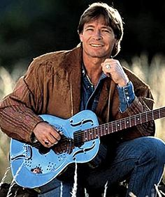 John Denver.he wrote some of the most beautiful songs that I have ever heard.and I loved that movie he did with George burns in the late 70's where George played god.