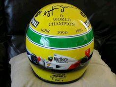 Senna - Capacete Comemorativo
