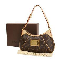 Louis Vuitton Thames PM Monogram Shoulder bags Brown Canvas M56384
