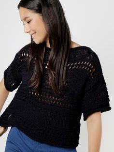 Try Me Top   Knit it   woolandthegang.com