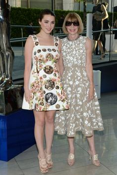 Anna Wintour and Bee Shaffer at the 2014 CFDA Fashion Awards