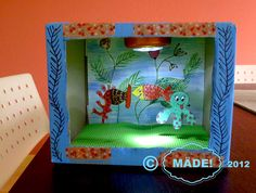 Designs by Kasia: Mommy I would like to have a fish tank Craft Projects For Kids, Craft Work, Activities For Kids, Fish Crafts, Diy And Crafts, Arts And Crafts, Fish Tank For Kids, Shoe Box Diorama, Aquarium Craft