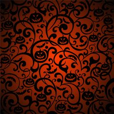 Halloween Pattern Background Vector
