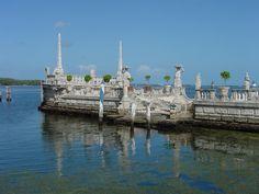miami+vizcaya | ... fictional travel blog about Miami: Vizcaya Museum and Gardens, Miami