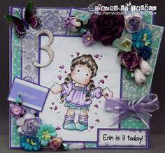 Berrylicious a magnolia birthday card