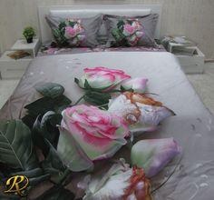20% OFF: Romance Cotton Sateen 200 Thread Count Bed Linen Set from Roxyma Dream UK