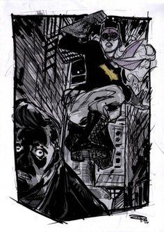 Batgirl - Denis Medri's 1950s Rockabilly Batman Series