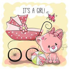Design cute baby cards vectors set 05
