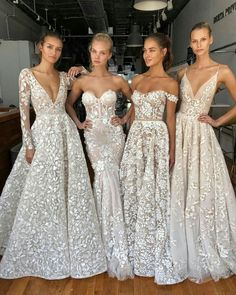 Wedding Fashion bridal gowns flowy fabric delicate lace and fairytale ball gowns wedding dress sleeves Lace Beach Wedding Dress, Top Wedding Dresses, Wedding Dress Trends, Wedding Dress Sleeves, Long Sleeve Wedding, Bridal Dresses, Wedding Gowns, Bridesmaid Dresses, Prom Dresses