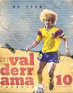 """Carlos """"El Pibe"""" Valderrama"""