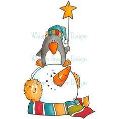 Snowman/Penguin Star