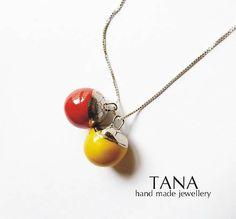 Tana / Tana šperky - keramika/platina