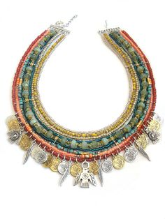 EXAMPLE / Made to order Native american tribal por OOAKjewelz