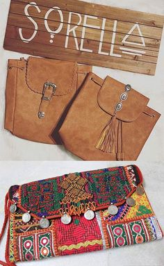 19 Best Bohemian Attire For Women Bohemian Style Dressing - Hippie Handbags Bohemian Style Clothing, Gypsy Style, Unique Clothing, Modern Gypsy Fashion, Boho Fashion, Bohemian Attire, Looks Country, Nude Boots, Satchel