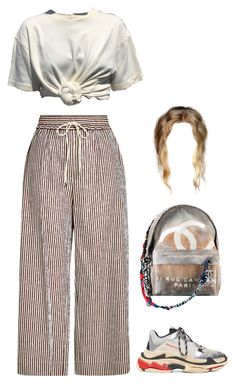 """""""Sans titre #2603"""" by frenchystyle ❤ liked on Polyvore featuring 3.1 Phillip Lim, Balenciaga and Chanel"""