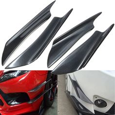 Universal Carbon Fiber Front Bumper Canards Splitters For Honda For AUDI For VW For BMW  Worldwide delivery. Original best quality product for 70% of it's real price. Buying this product is extra profitable, because we have good production source. 1 day products dispatch from...