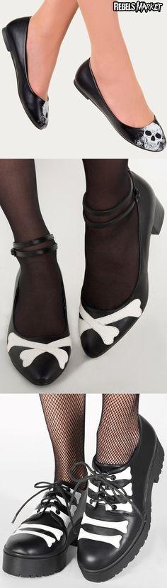 Shop summer goth shoes at RebelsMarket.