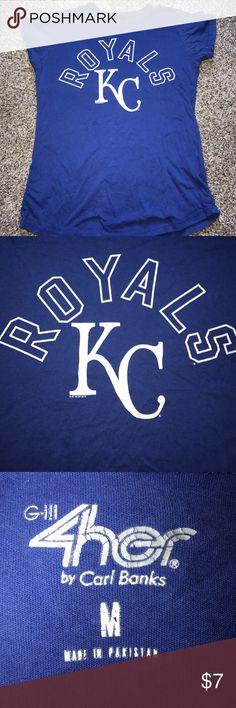 KC Royals T-Shirt Kansas City Royals T-Shirt, Good Condition Nike MLB Tops Tees - Short Sleeve