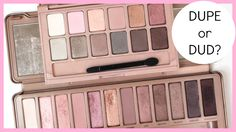 Making Up the Midwest: Dupe or Dud: Urban Decay Naked3 vs. Maybelline The Blushed Nudes