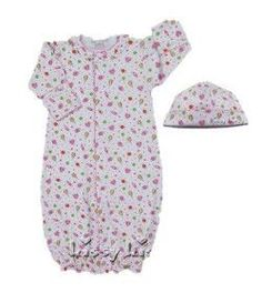 Kissy Candyland Convertible Gown & Hat