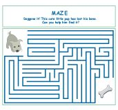 Make believe maze.