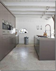 should i have polished concrete floors - Suelo Cemento Pulido