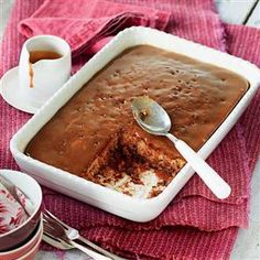 Sticky toffee pudding with caramel sauce recipe