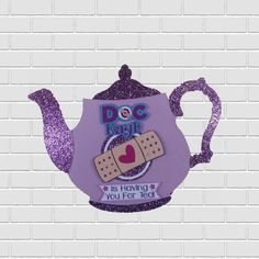 Doc McStuffins Tea Party Premium Invitation Made with Premium Cardstock and Laser Printed by Inkspireve on Etsy