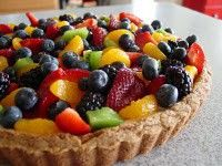 Fruit Pizza/ Fruit Tart....yes please!
