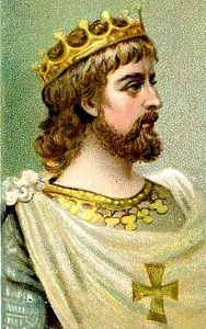 Athelstan - the first King of England. Athelstan was King of Wessex 924 - 927, and King of England 927 - 939. He was the grandson of Alfred the Great.
