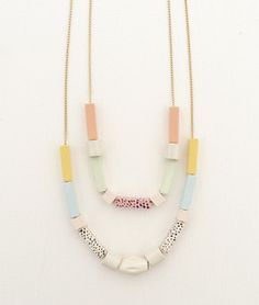 Image of necklace Congo by Apres Ski Inspired by the Memphis movement