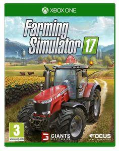 Farming Simulator 17 Xbox One Game Brand New Playstation Games, Xbox One Games, Ps4 Games, Games Consoles, Jeux Xbox One, Ps4 Or Xbox One, Xbox 360, Wii U, Farming Simulator